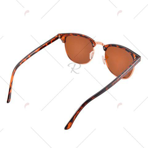 Sale Anti UV Street Snap Sunglasses and Box - LEOPARD  Mobile