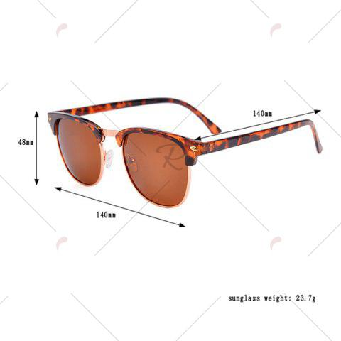 Shop Anti UV Street Snap Sunglasses and Box - LEOPARD  Mobile