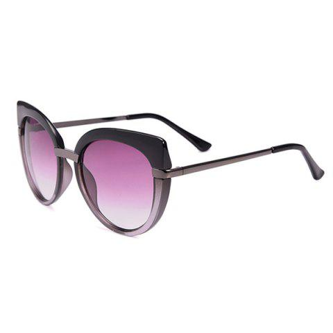 Sale Cat Eye Oversized Anti UV Sunglasses with Box BLACK