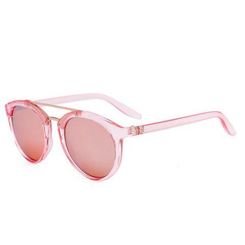 Discount Anti UV Oversized Sunglasses and Box PINK