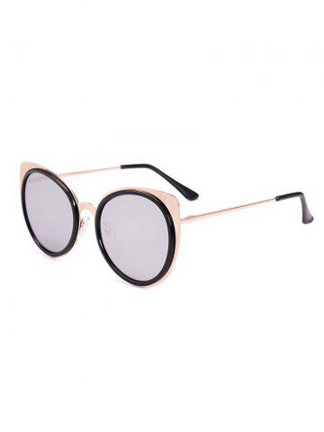 Chic Cat Eye Shaped UV Protection Sunglasses with Box