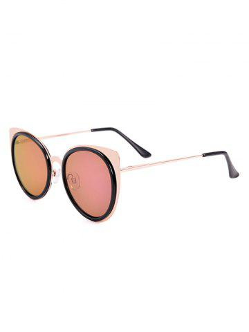 Latest Cat Eye Shaped UV Protection Sunglasses with Box - BLACK  Mobile