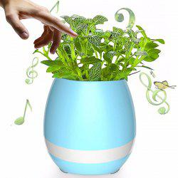 USB Charging Colorful Night Light Bluetooth Speaker Music Flower Pot