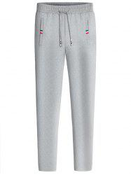 Straight Leg Drawstring Sweatpants