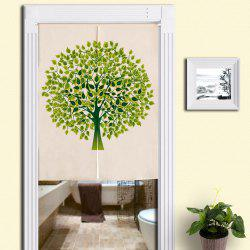 Tree Pattern Home Product Artistic Door Curtain -