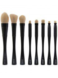 8Pcs Color Block Multipurpose Brushes Set