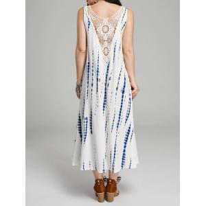 Lace Insert Maxi Sleeveless For Summer