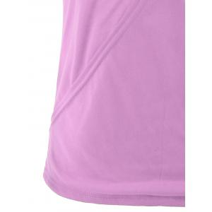 Casual Two Tone Surplice Sleeveless Top -