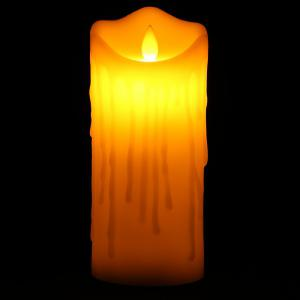 Electronic Swing Pillar Shaped Large Candle Night Light