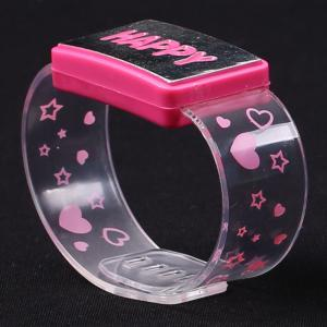 Flash Letter Party Decorative Watch Shaped Light -