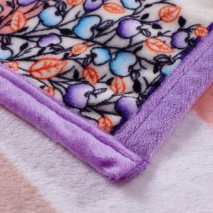 Super Soft Money Tree Pattern Nap Throw Blanket - Coloru00e9 Complet