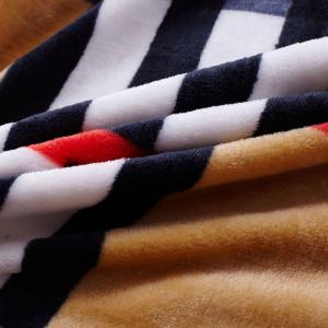 Soft Sofa Style Urbain Plaid Nap Throw Blanket -