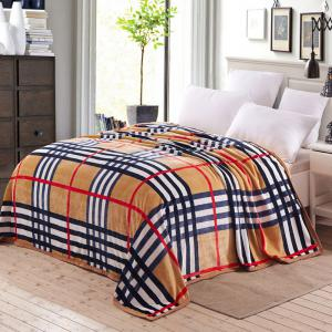 Soft Sofa Urban Style Plaid Nap Throw Blanket