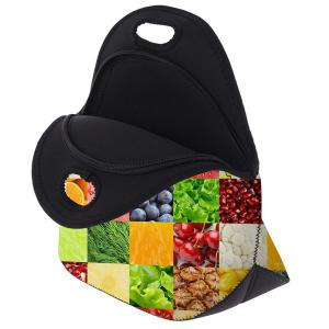 Food Printed Lunch Bag -