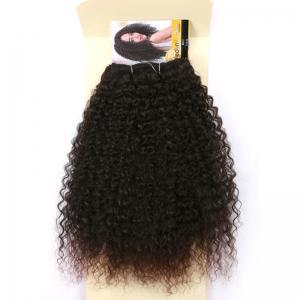 Medium Fluffy Deep Wave Synthetic Hair Weave