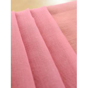 Window Screen Ombre Decorative Sheer Tulle Curtain - PINK W54*L84INCH