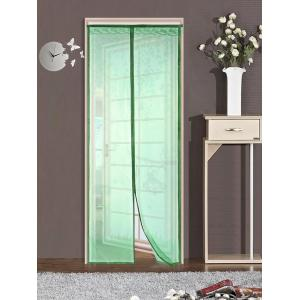 Monkey Pattern Anti Mosquito Mesh Net Magnetic Curtain - Green - 100*210cm