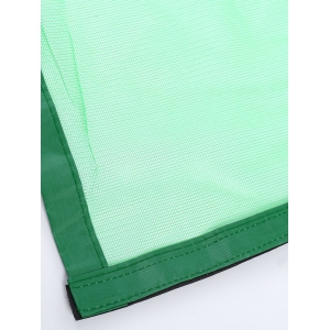 Magnetic Tulle Mesh Anti Mosquito Curtain Door Screen - GREEN 100*210CM