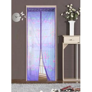 Self-Closed Mesh Anti Insects Magnetic Door Curtain