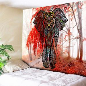 Elephant Wall Hanging Mangrove Forest Tapestry