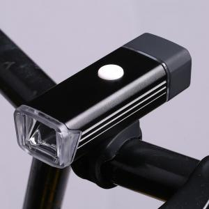 Outdoor Sport USB Rechargeable Aluminum Cycling Light - Noir