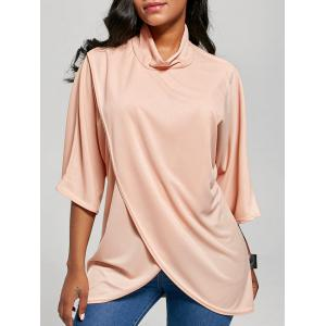 Cowl Neck Oversized Top