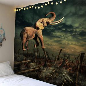 Home Decor Elephant Forest Wall Hanging Tapestry
