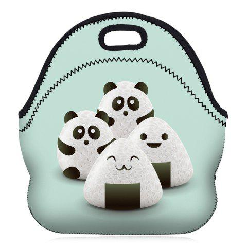 Trendy Food Printed Lunch Bag