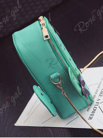 Online Novelty Cactus Shaped Crossbody Bag - GREEN  Mobile