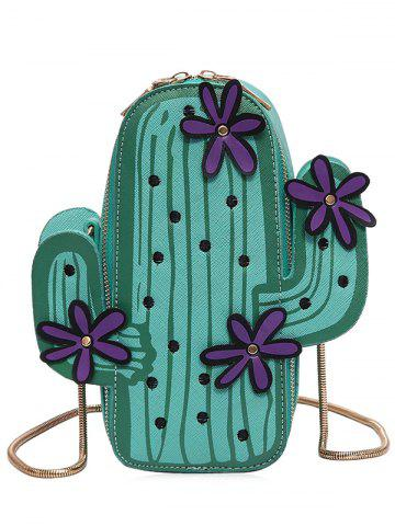 Buy Novelty Cactus Shaped Crossbody Bag