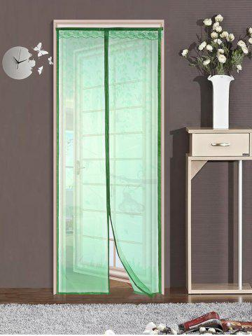 Cheap Monkey Pattern Anti Mosquito Mesh Net Magnetic Curtain GREEN 90*210CM
