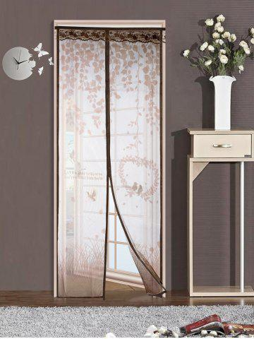 Outfit Self-Closing Anti Insects Mesh Magnetic Door Curtain
