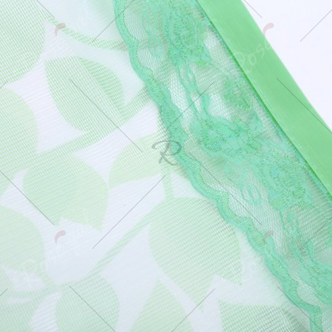 Fashion Self-Closing Anti Insects Mesh Magnetic Door Curtain - 90*210CM GREEN Mobile