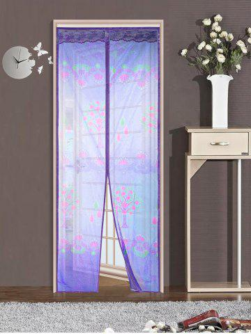 Fashion Self-Closed Mesh Anti Insects Magnetic Door Curtain