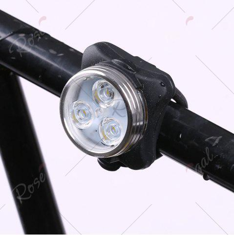 Best Outdoor Sport LED Clip On USB Rechargeable Bicycle Light - BLACK  Mobile