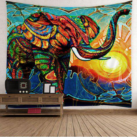 2018 Hippie Elephant Sunlight Wall Hanging Tapestry In