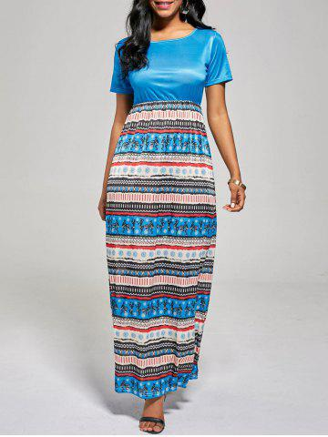 Hot Floor Length A Line Boho Dress