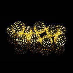 Garden Decoration 10PCS LED Morocco Solar String Lights
