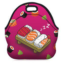 Food Printed Lunch Bag