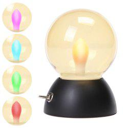 Retro Style USB Charging Bulb Colorful Bedlamp Night Light