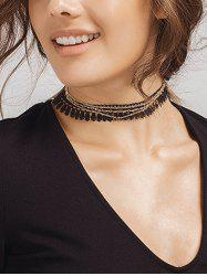 Tassel Chain Vintage Choker Necklace
