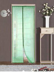 Monkey Pattern Anti Mosquito Mesh Net Magnetic Curtain - GREEN 90*210CM