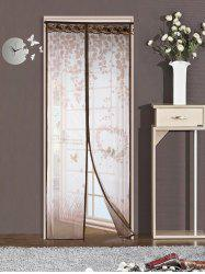 Self-Closing Anti Insects Mesh Magnetic Door Curtain -