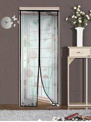 Insect Stopping Net Dandelion Door Screen Magnetic Curtain -