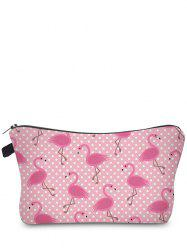 Animal Print Clutch Makeup Bag