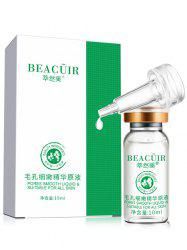 10ml*1pc Plant Essence Skin Repaired Shrink Pores Liquid - WHITE