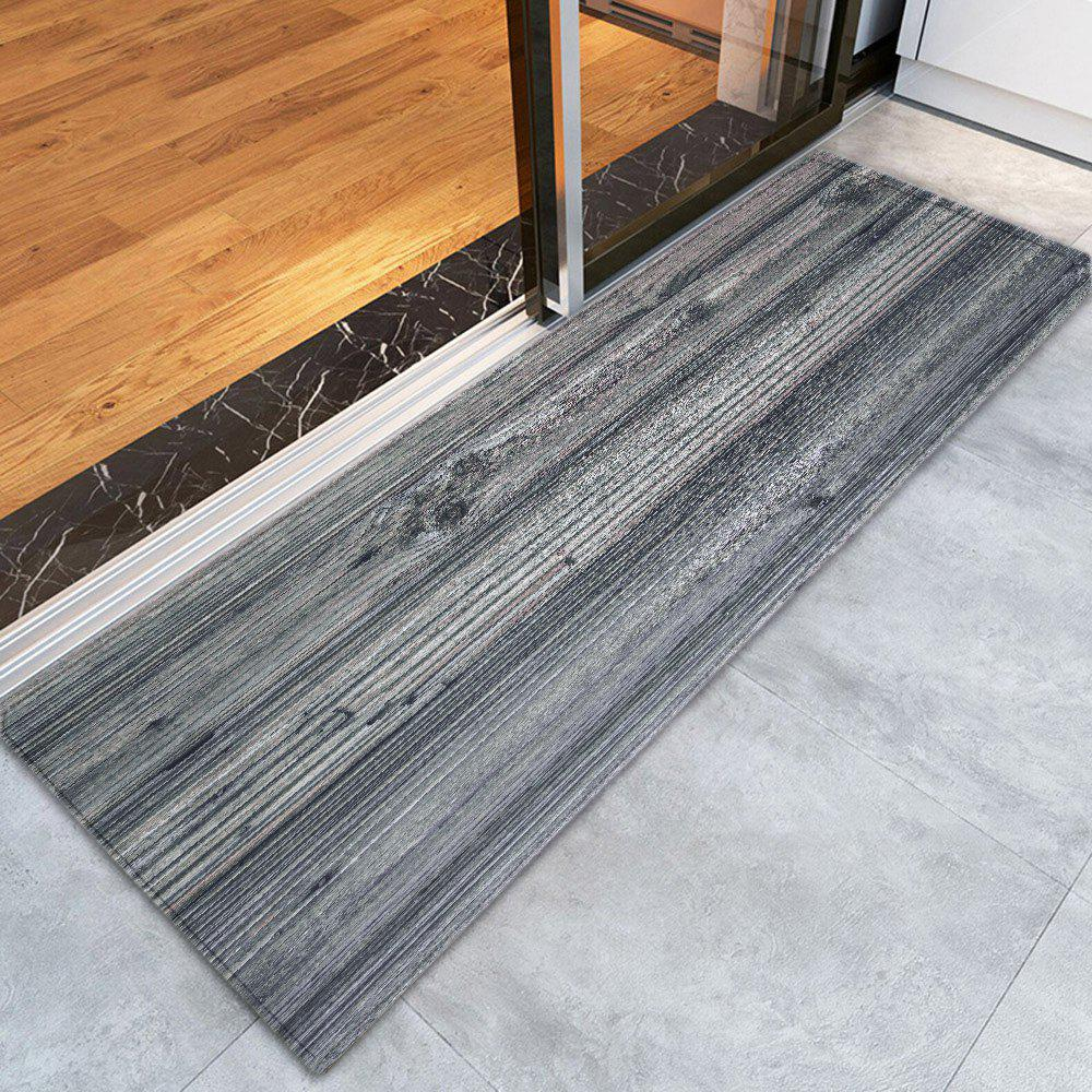 Withered Tree Grain Pattern Nonslip RugHOME<br><br>Size: W24 INCH * L71 INCH; Color: GRAY; Products Type: Bath rugs; Materials: Polyester; Pattern: Plant; Style: Trendy; Package Contents: 1 x Rug;