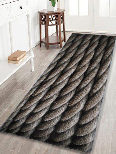 Indoor Outdoor Large Hemp Rope Area RugHOME<br><br>Size: W16 INCH * L47 INCH; Color: DUN; Products Type: Bath rugs; Materials: Coral FLeece; Pattern: Print; Style: Vintage; Shape: Rectangle; Package Contents: 1 x Bath Rug;