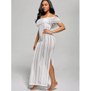 Off The Shoulder Maxi Cover Up Dress -