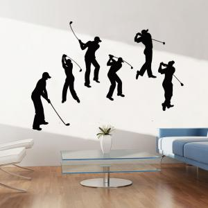 Golf Sport Removable Bedroom Wall Sticker